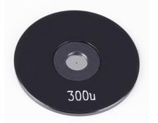 300µm Aperture Diameter, Mounted, Precision Pinhole, #56-285