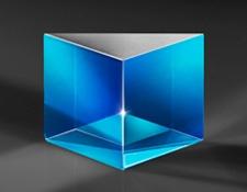 Broadband Anti-Reflection Coated Hypotenuse Prism